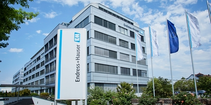Endress+Hauser InfoService offices in Weil, Germany