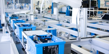 Liquiline production: highly automated manufacturing.