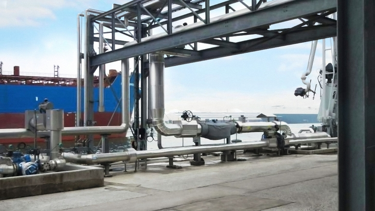 Ship loading and offloading | Endress+Hauser