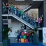 Children in the foyer of Endress+Hauser Wetzer at the technology day