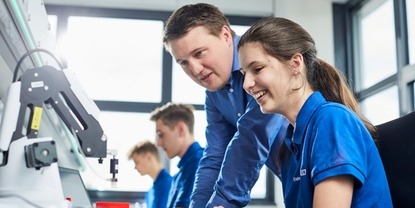 Endress+Hauser deeply involved in vocational education in the region